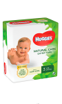 Lingettes NATURAL CARE Extra Care x3 Huggies