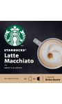 Café capsules latte macchiato Starbucks
