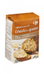 Farine de pain multi-céréales Carrefour