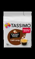 Café long en dosettes Grand Mère x16 Tassimo