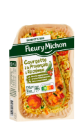 Plat cuisiné courgette farcie à la provençale Fleury Michon