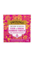 Infusion ayurveda fleur, sureau & framboise Twinings