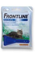 Anti-puces pour chat Frontline
