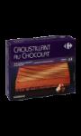 Croustillant au chocolat surgelé Carrefour
