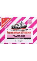 Pastilles menthol Framboise Fisherman's Friend
