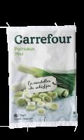 Poireaux en rondelles Carrefour