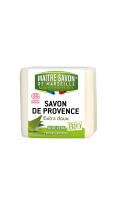Savon aloe vera certifié Bio Maître Savon de Marseille