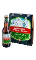 Bière La Cristal Ipa Brasserie du Mont Blanc