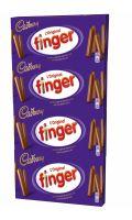Gâteaux finger chocolat au lait Cadbury