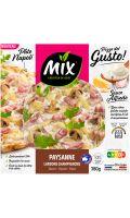 Pizza paysanne lardons champignons Mix buffet