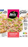 Pizza saumon fumé mozzarella Mix buffet