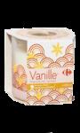 Bougie parfum vanille Carrefour