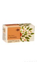 Thé saveur Caramel Carrefour