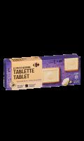 Le petit beurre tablette chocolat blanc Carrefour