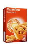 Crackers au gouda Carrefour