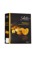 Palmiers au beurre et au fromage Carrefour Sélection