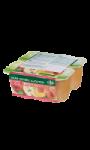Dessert de fruits sans sucres ajoutés pomme-pêche Carrefour