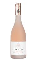 Vin rosé AOC Languedoc L'odalet