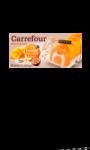 Bûche glacée exotique vanille, mangue & pas Carrefour