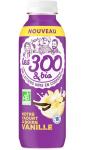 Yaourts à boire vanille Les 300 & Bio
