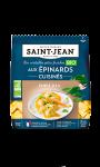 Pâtes fraîches cuisinées aux épinards bio Saint Jean