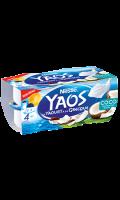 Yaourt grecque saveur coco Yaos