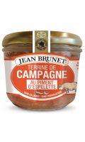 Terrine de campagne au piment d'Espelette Jean Brunet