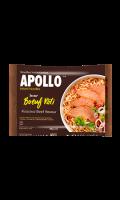 Nouilles saveur boeuf roti Apollo