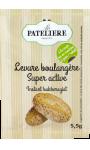 Levure de boulangerie super active La Patelière