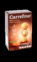 Biscuits apéritif mini choux saumon aneth Carrefour