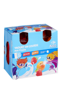 Yaourts en gourde aux fruits Carrefour Kids
