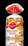 Briochettes aux petits carrés de chocolat La Boulangère