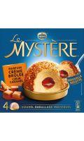 Dessert glacé à la crème brulée Mystère