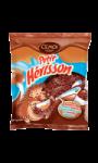 Guimauves petit hérisson saveur chocolat au lait et caramel Cémoi Chocolatier