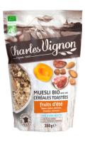 Muesli Bio céréales toastées fruits d'été Charles Vignon