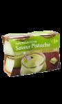 Crèmes dessert saveur pistache Carrefour