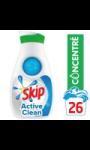 Skip Lessive Liquide Concentrée Ultimate Active clean 910ml 26 Lavages