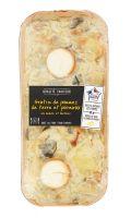 Gratin de pommes de terre et poireaux au chèvre et lardons Qualité Traiteur