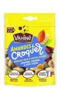 Amandes à Croquer chocolat noir et raisins blonds Vahiné