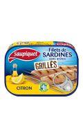 Filets de sardines grillés citron Saupiquet