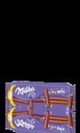 Biscuits enrobés de chocolat au lait Milka Lila Sitx