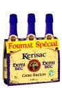 Cidre Bouche Igp Kerisac demi-Sec 3X75 Cl 3.5°
