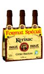Cidre Bouche Kerisac Brut Traditionnel 3X75 Cl 5.5°
