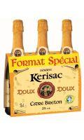 Cidre Bouche Reserve Kerisac Doux 3X75 Cl 2°