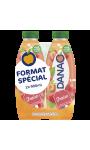 Jus de fruits lacté fraise sans sucres ajoutés format spécial Danao