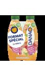 Danao Orange Banane Fraise 2X900Ml Sans Sucre Ajouté