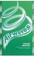 Chewing-gum chlorophylle menthol Airwaves