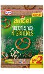 Bretzels aux 4 Graines Ancel