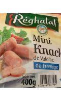 Mini knacks de volaille au Fromage Réghalal