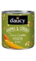 Legumes & céréales duo de carottes épeautre et orge D'aucy